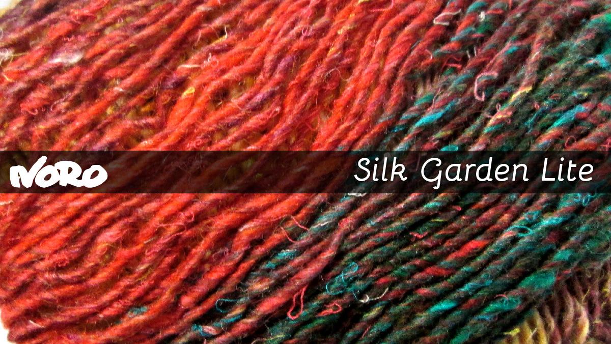 Yarn art color garden - Silk Garden Lite By Noro Yarns