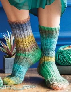 Noro - Silk Garden Sock yarn - at KnittingFever com