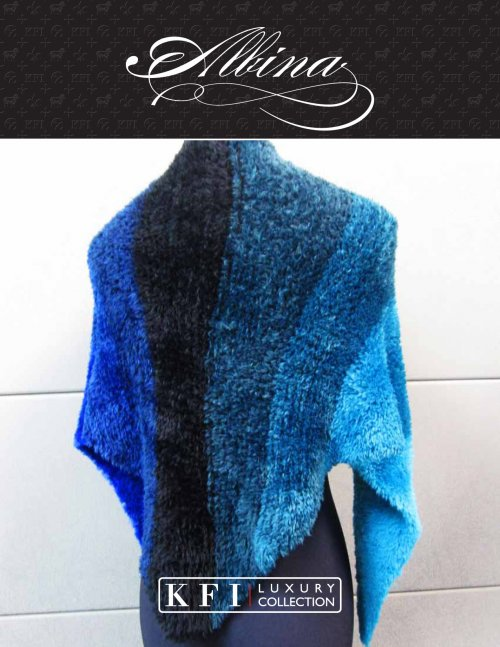 Albina Knitting Fever Luxury Collection Pattern