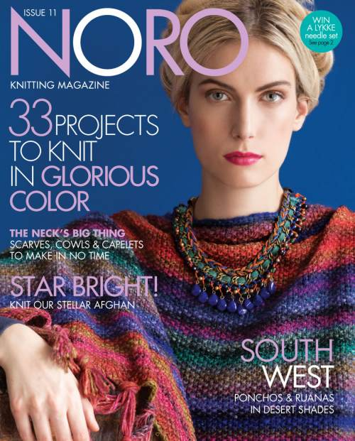 By Jo Allport: pattern book 30 designs Winter NORO :What Can I Knit Tonight