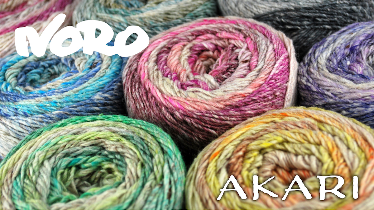 product page for, Noro Akari