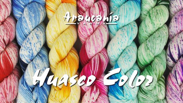 product page for, Araucania Huasco Color
