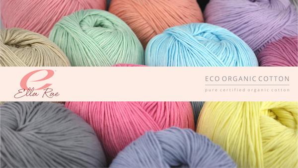 product page for, Ella Rae Eco Organic Cotton