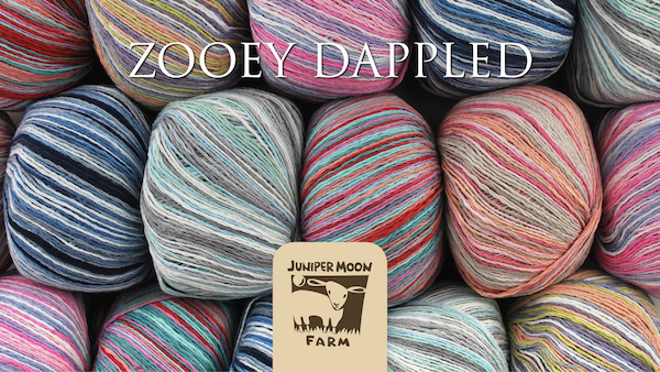 product page for, Juniper Moon Farm Zooey Dappled