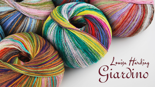 product page for, Louisa Harding Giardino
