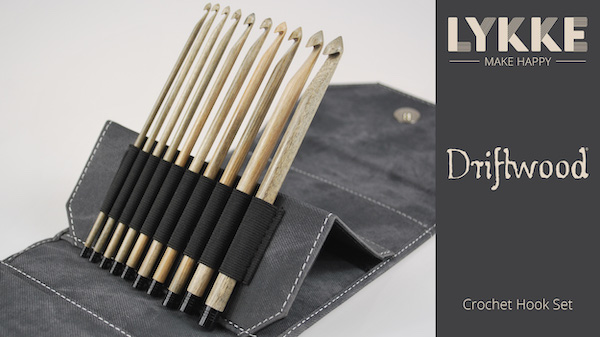 product page for, LYKKE Driftwood Crochet Hooks